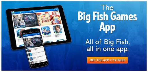 Big Fish Games App pc screenshot