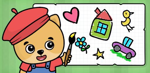 Coloring games for kids pc screenshot