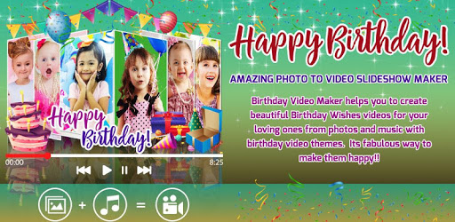 Birthday Video Maker With Music Editor For Pc Free Download
