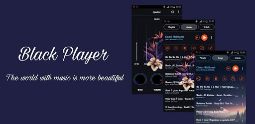 BlackPlayer Music Player pc screenshot