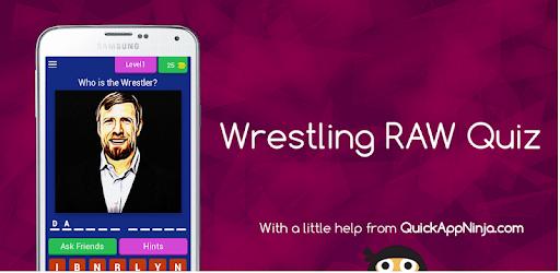 Wrestling RAW Quiz pc screenshot