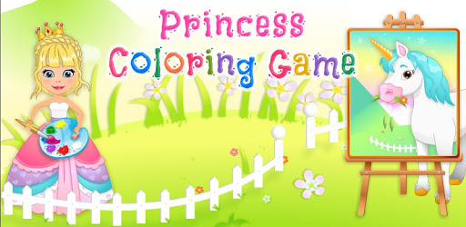 Princess Coloring Game pc screenshot