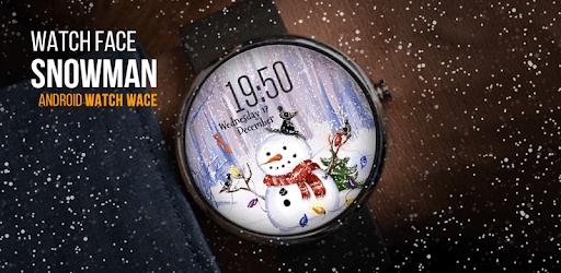 Snowman ⛄ Free Watch Face pc screenshot