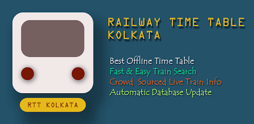 RTT Kolkata: Best Offline Railway Time Table pc screenshot