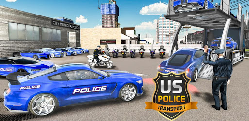 US Police Car Transport Cruise Ship Simulator 2018 pc screenshot