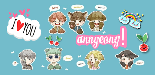 BTS Stickers & Photo Editor For Army pc screenshot