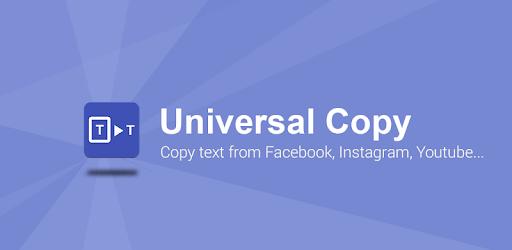 Universal Copy pc screenshot