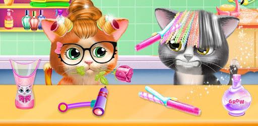 Pet Kitty Hair Salon Hairstyle Makeover pc screenshot