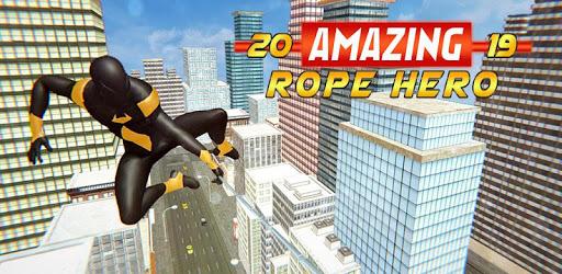 Amazing Rope Hero 2019 pc screenshot