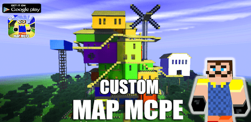 Map Of Hi Neighbor For MCPE Guides pc screenshot