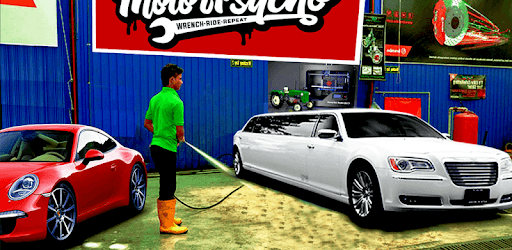 Modern Limo Car Wash: Limousine car Parking pc screenshot