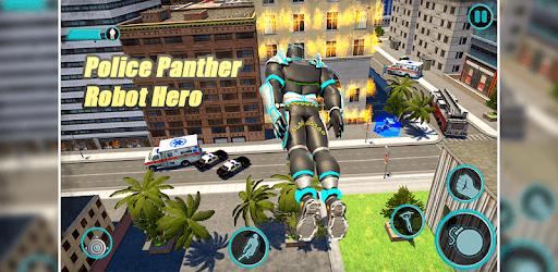 Flying Panther Speed Hero Robot Games pc screenshot