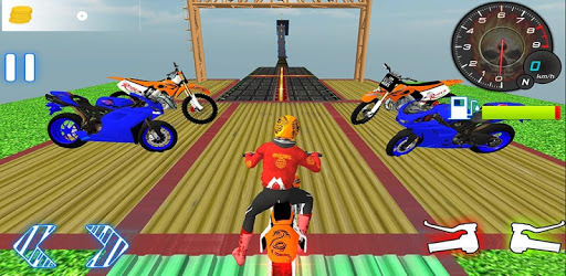 Motorcycle Stunts Game:Sky Runner Bike Stunts pc screenshot