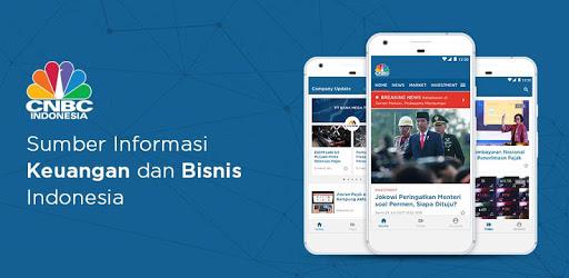 CNBC Indonesia pc screenshot