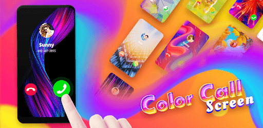 Color Call Screen - Phone Caller Screen Themes pc screenshot