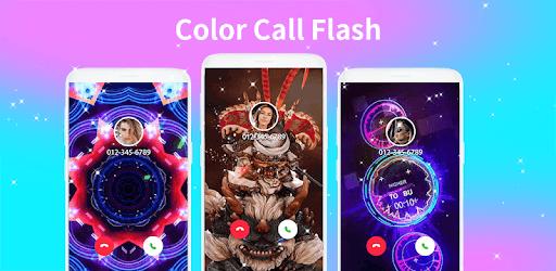 Color call flash- Call screen phone LED flash pc screenshot