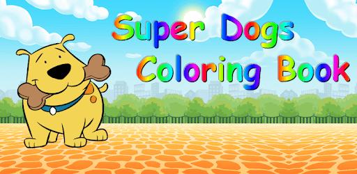 Coloring Book Super Dogs pc screenshot
