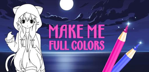 Animated Glitter Coloring Book - Anime Manga pc screenshot