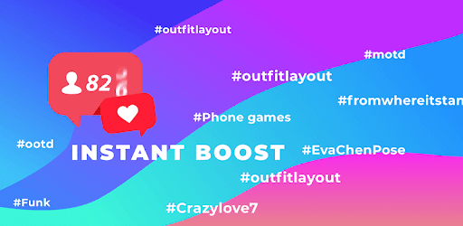 InstantBoost  - Boom Likes Tags and F0llowers pc screenshot