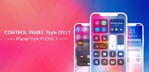 Control Center OS 11: iPanel Phone X pc screenshot