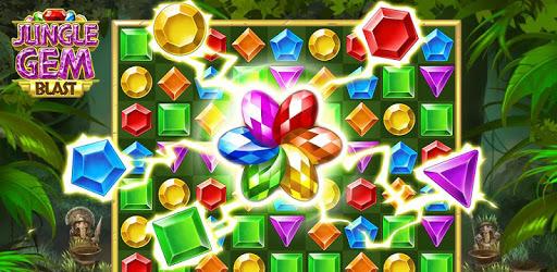 Jungle Gem Blast: Match 3 Jewel Crush Puzzles pc screenshot
