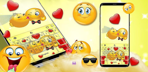 Cute Emoji Keyboard Theme pc screenshot