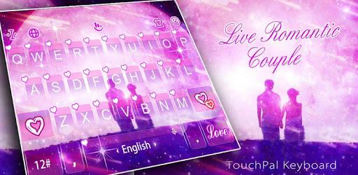 Live Romantic Couple Keyboard Theme pc screenshot