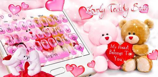 Cute Bears Keyboard Theme pc screenshot