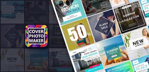 Cover Photo Maker-Youtube,FB,Instagram,Twitter etc pc screenshot