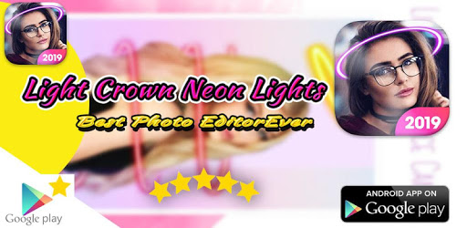 Light Crown Neon Lights - Photo Collage Maker PRO for PC