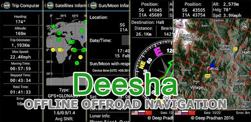 Deesha: Indian Grid, GEOREF, MGRS, UTM/UPS pc screenshot