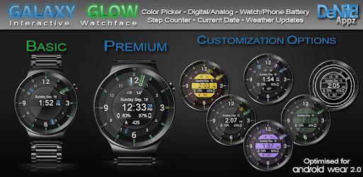 Galaxy Glow HD Watch Face Widget & Live Wallpaper pc screenshot
