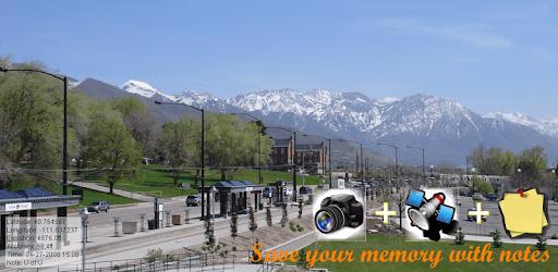 NoteCam Lite - photo with notes [GPS Camera] pc screenshot