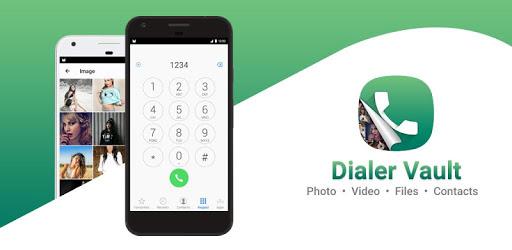 Dialer Vault - VaultDroid Hide Photo Video OS 10 pc screenshot