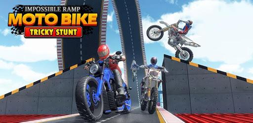 Impossible Ramp Moto Bike Tricky Stunts pc screenshot
