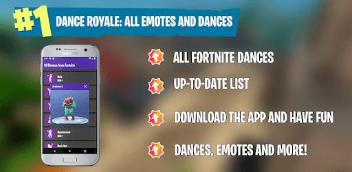 Viewer Dance: All Battle Royale Dances and Emotes pc screenshot