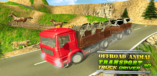 Offroad Animal Transport Truck Driver 3D pc screenshot