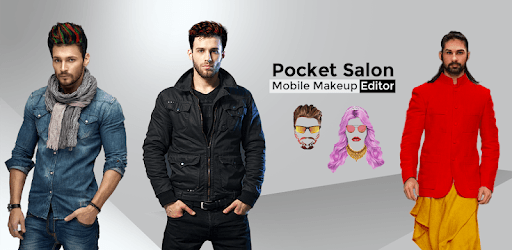 Pocket Salon - Men, Women Mobile Beauty Editor app pc screenshot