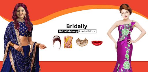 Bridally - Wedding Makeup Photo Editor Beauty app pc screenshot