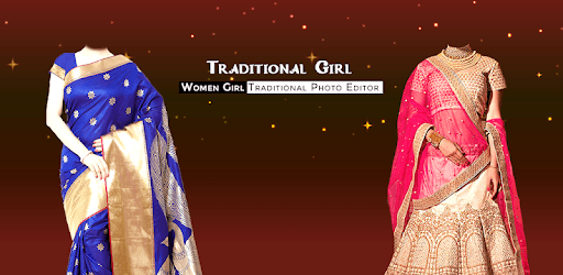 Traditional Girl Photo Suits - Traditional Dresses pc screenshot