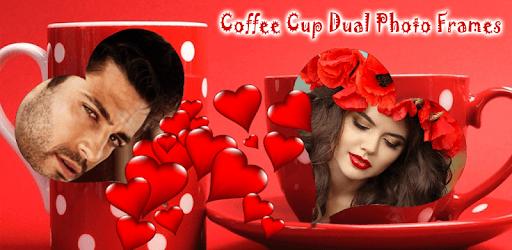 Coffee Cup Dual Photo Frames pc screenshot