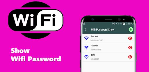 Show Wifi password wep wpa wpa2 pc screenshot