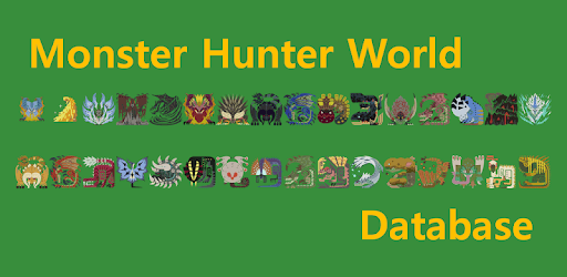 MHW You Know (Monster Hunter World Database) pc screenshot