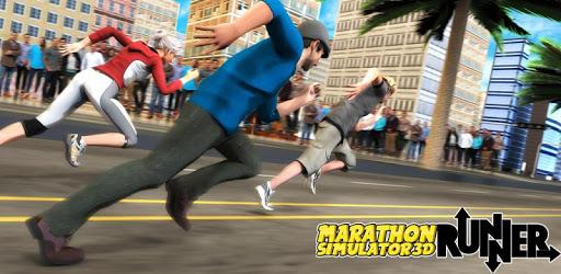 Marathon Race Simulator 3D: Running Game pc screenshot