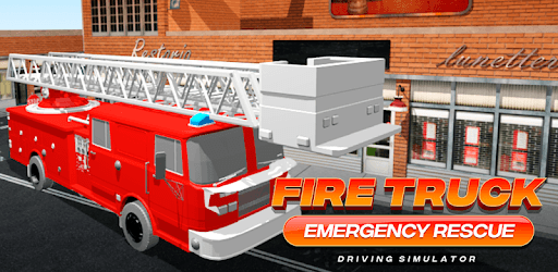Fire Truck Emergency Rescue - Driving Simulator pc screenshot