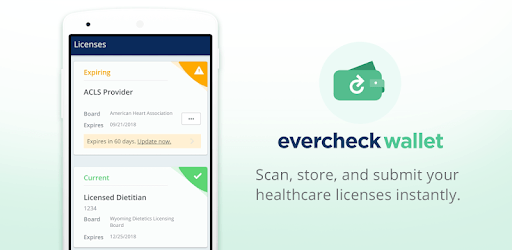 EverCheck Wallet pc screenshot