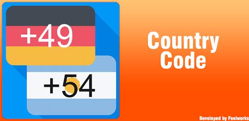 Country Code pc screenshot