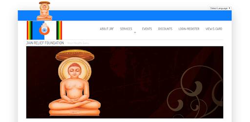 Jain Relief Foundation - jrf pc screenshot