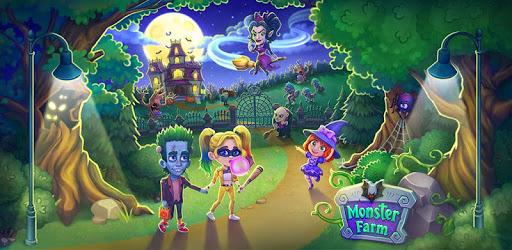 Monster Farm: Happy Halloween Game & Ghost Village pc screenshot