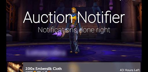 Auction Notifier for World of Warcraft pc screenshot
